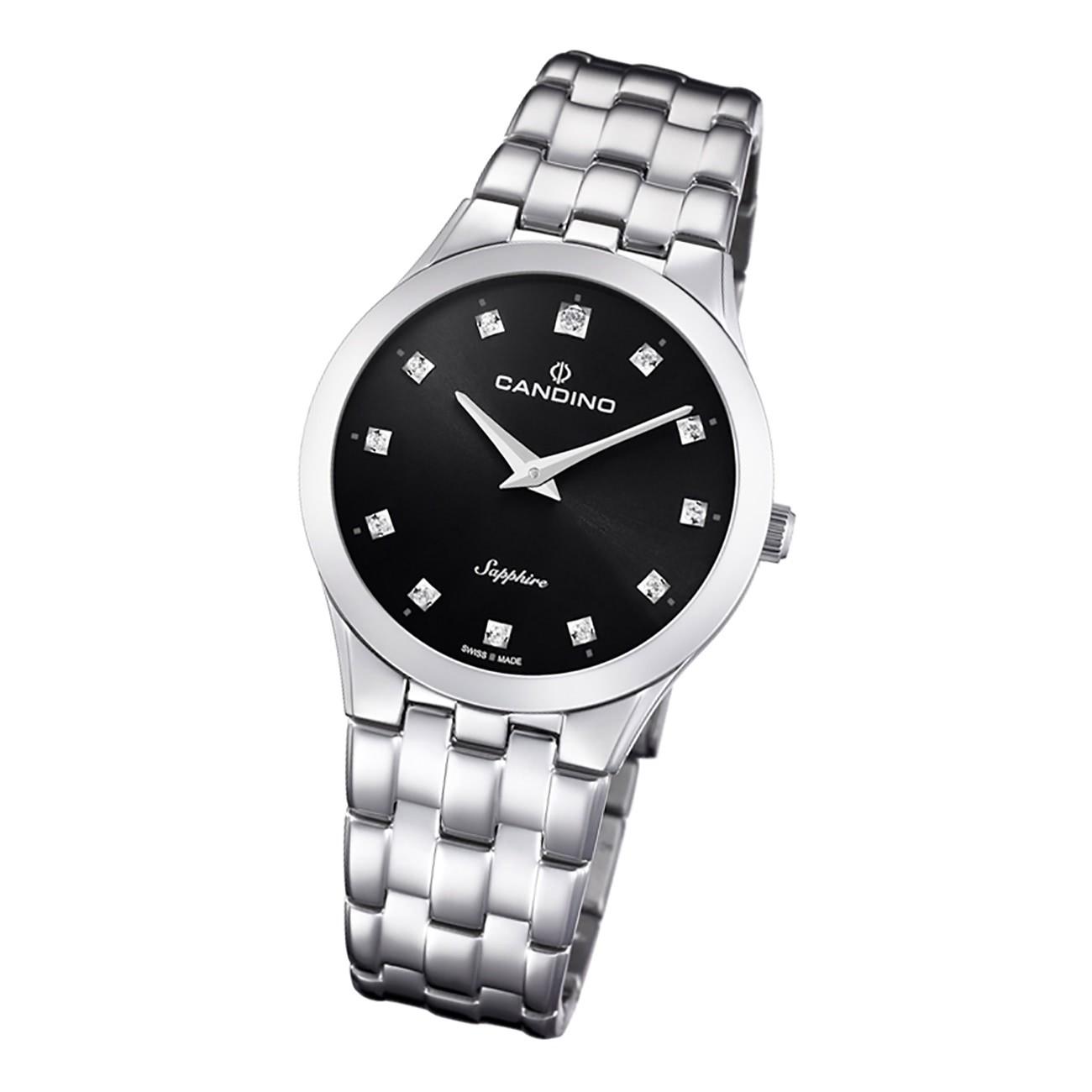 Candino Damen Armbanduhr Classic C4700/3 Analog Edelstahl silber UC4700/3