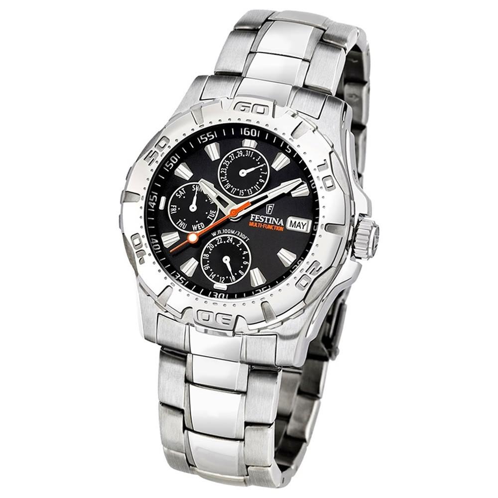 FESTINA Herren-Armbanduhr analog Quarz Edelstahl Sport Uhr UF16242/9