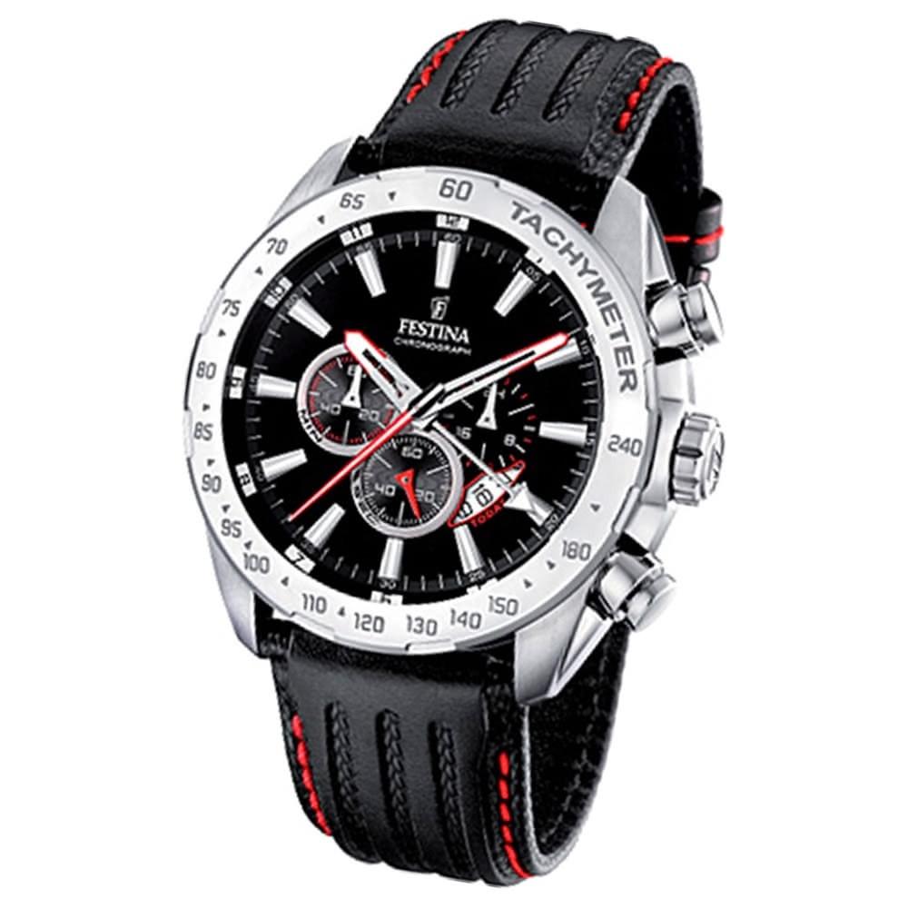 FESTINA Herrenuhr Chrono Sport Uhren schwarz Sport Chronograph UF16489/5