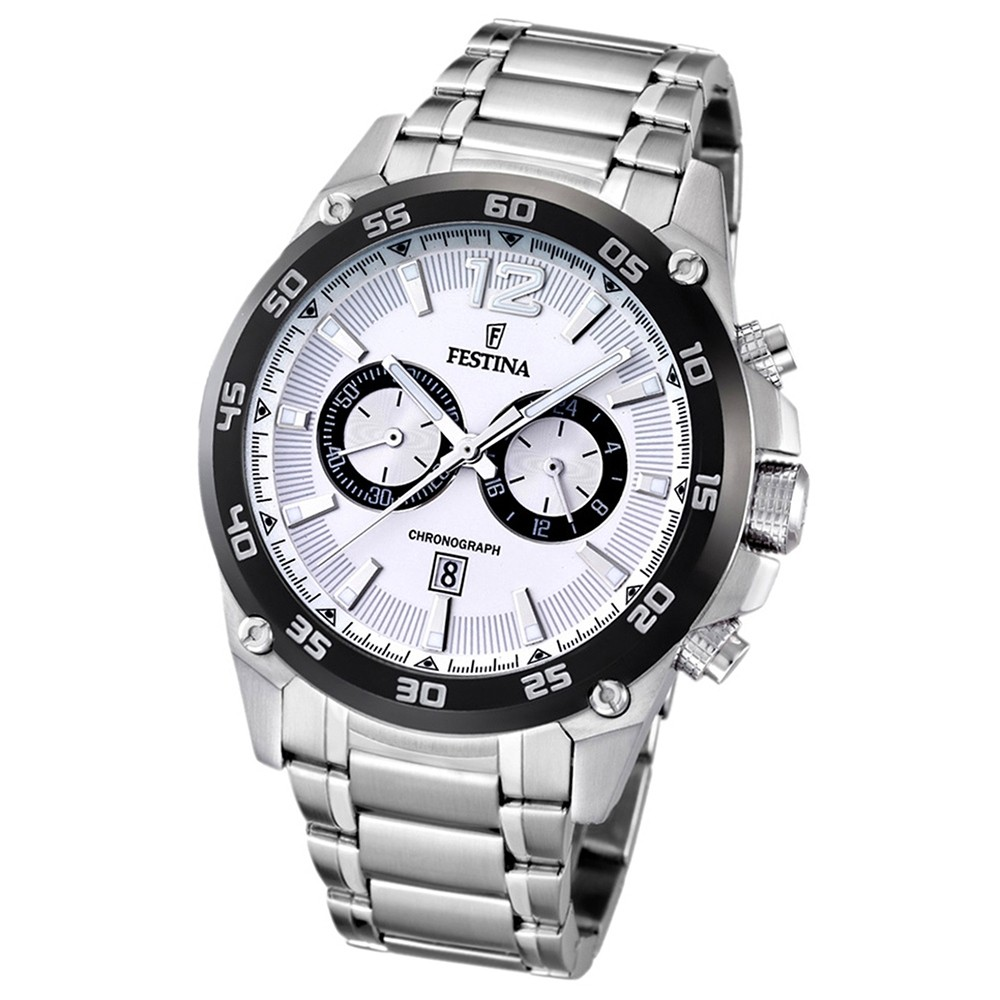 FESTINA Herren-Armbanduhr analog Quarz Edelstahl UF16680/1