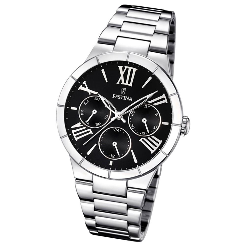 FESTINA Damen-Armbanduhr Mademoiselle analog Quarz Edelstahl UF16716/2