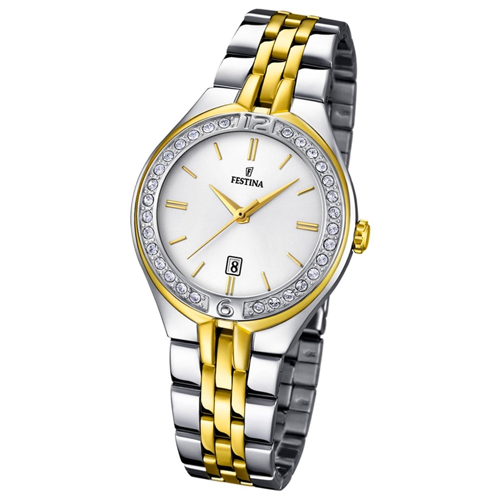 FESTINA Damen-Armbanduhr Mademoiselle Analog Quarz UF16868/1