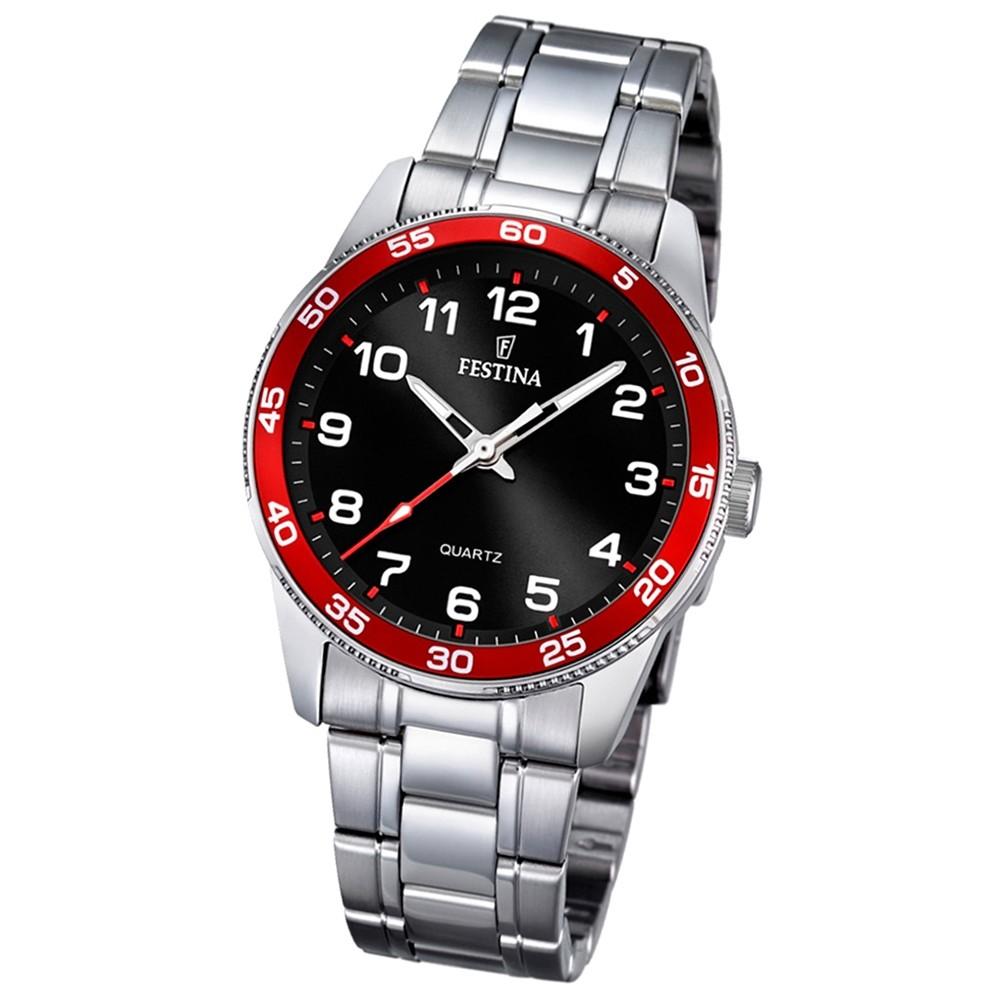 Festina Kinder Jugend-Uhr Junior Collection analog Quarz Edelstahl UF16905/3