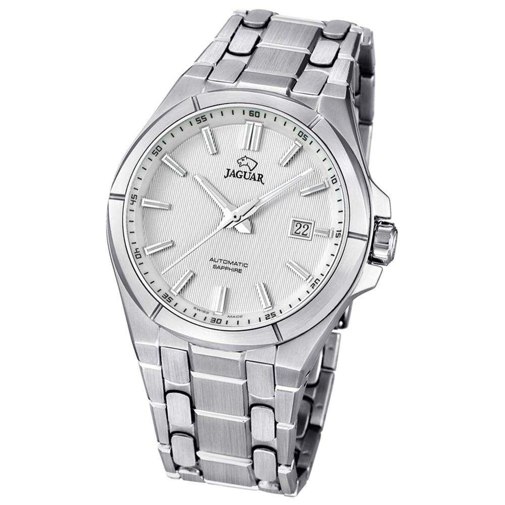 JAGUAR Herren-Armbanduhr Daily Classic Saphirglas Automatik Edelstahl UJ669/1