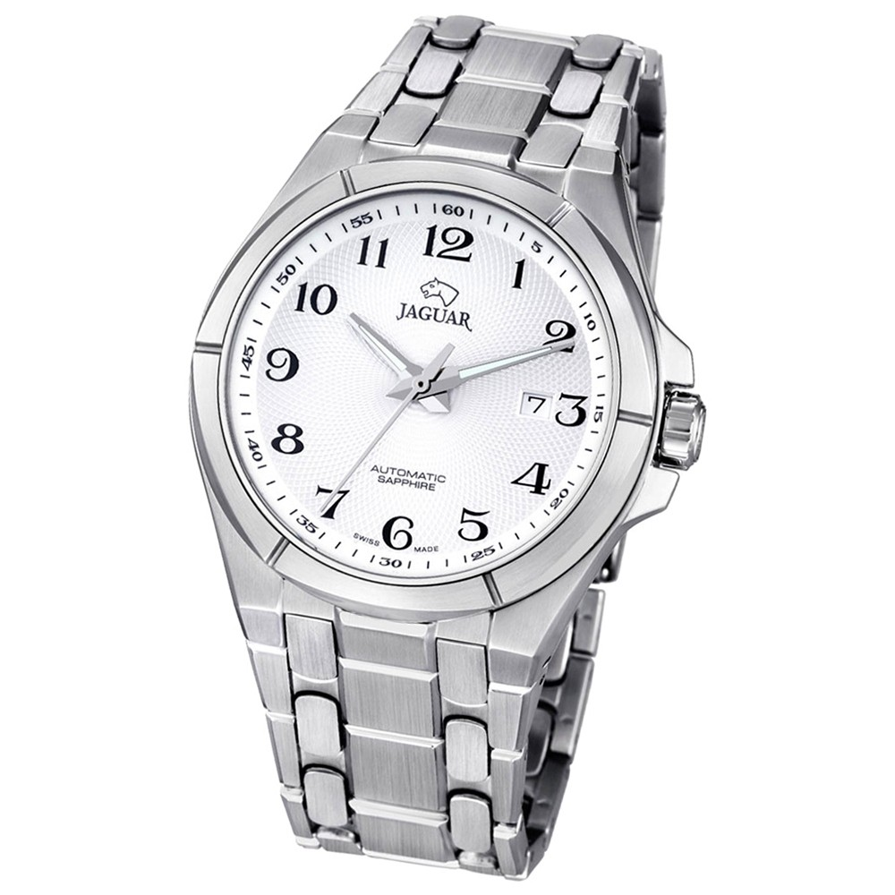 JAGUAR Herren-Armbanduhr Daily Classic Saphirglas Automatik Edelstahl UJ669/5