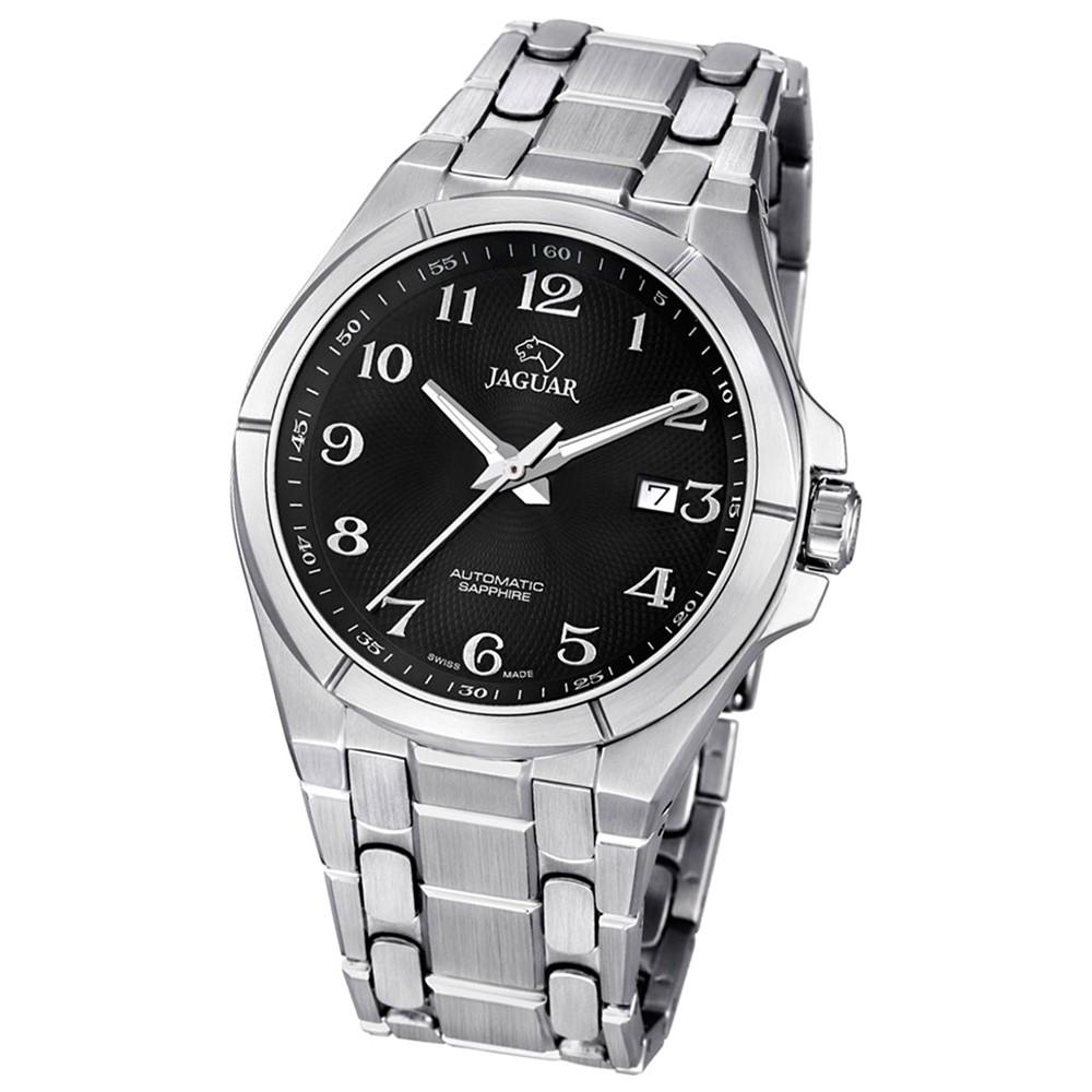 JAGUAR Herren-Armbanduhr Daily Classic Saphirglas Automatik Edelstahl UJ669/6