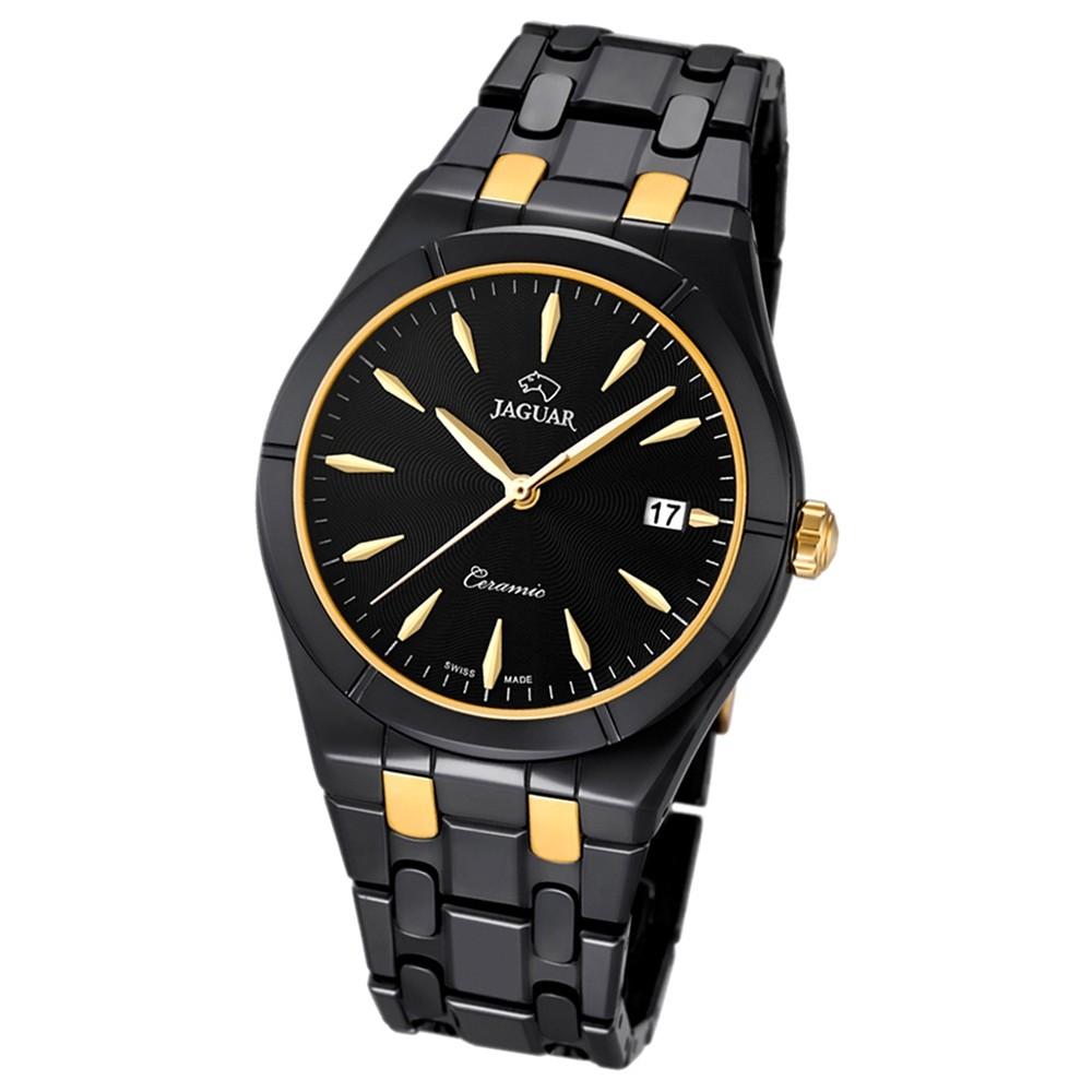 JAGUAR Damen-Armbanduhr Daily Classic Saphirglas Quarz Keramik schwarz UJ676/2