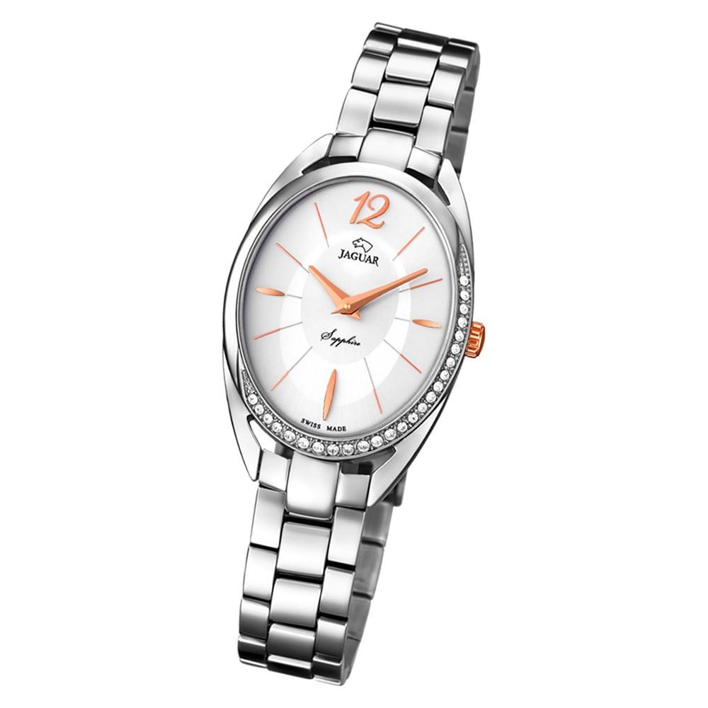 Jaguar Damen-Armbanduhr Edelstahl silber J834/1 Saphir Cosmopolitan UJ834/1
