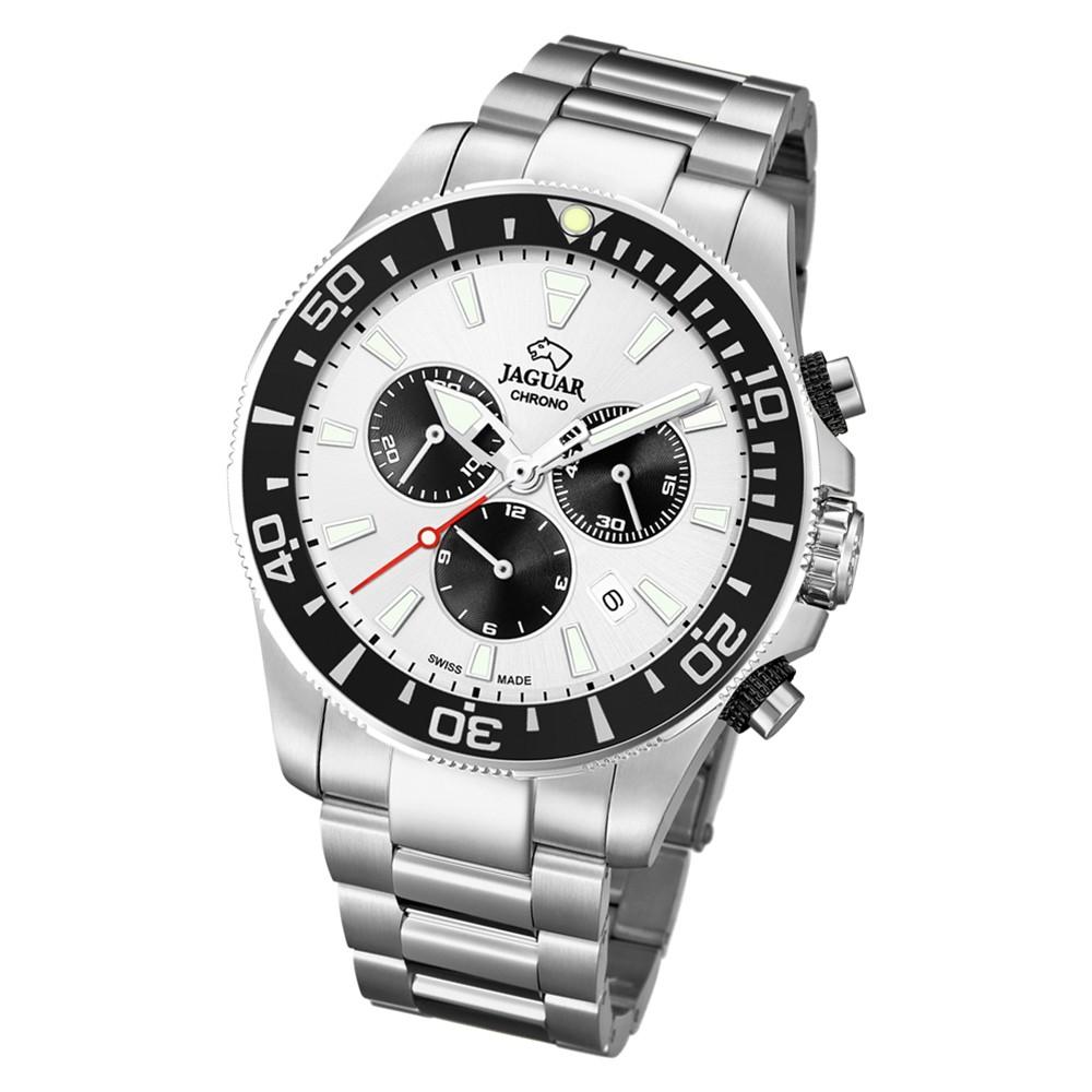 Jaguar Herren-Armbanduhr Edelstahl silber J861/1 Saphir Executive UJ861/1