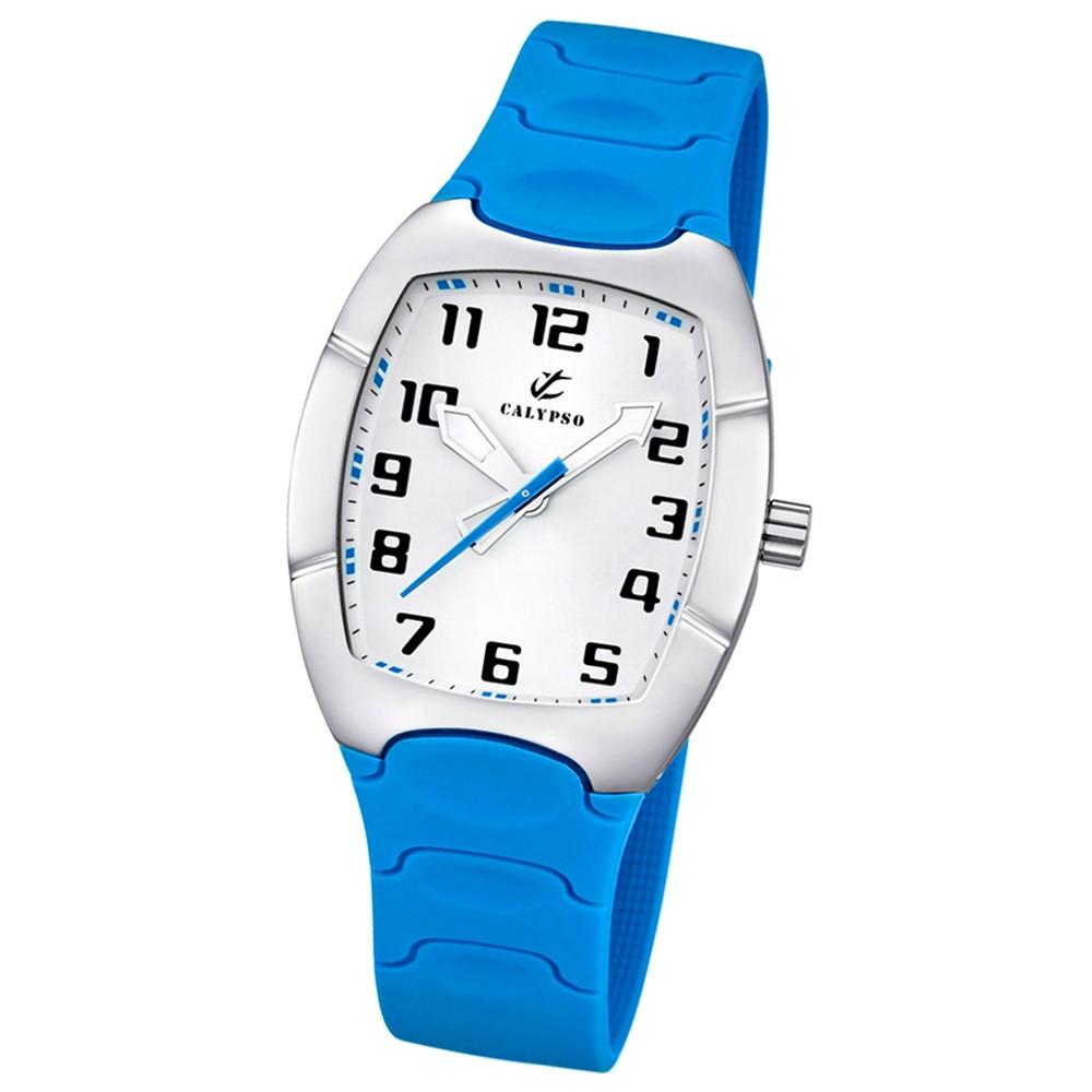CALYPSO Damen-Uhr - Trend - Analog - Quarz - PU - UK5161/C