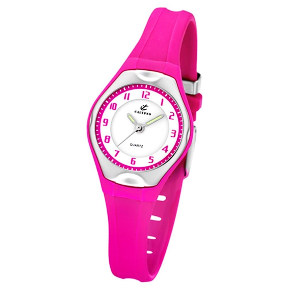 Calypso Jugenduhr Mädchen pink Analog Calypso Uhren Kollektion UK5163/K