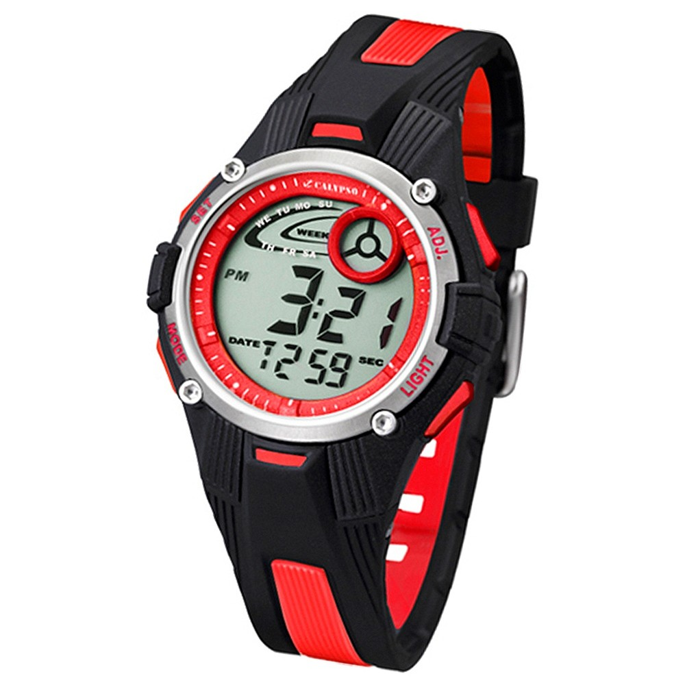 Calypso Jugenduhr Multifunktion digital Quarz PU UK5558/5