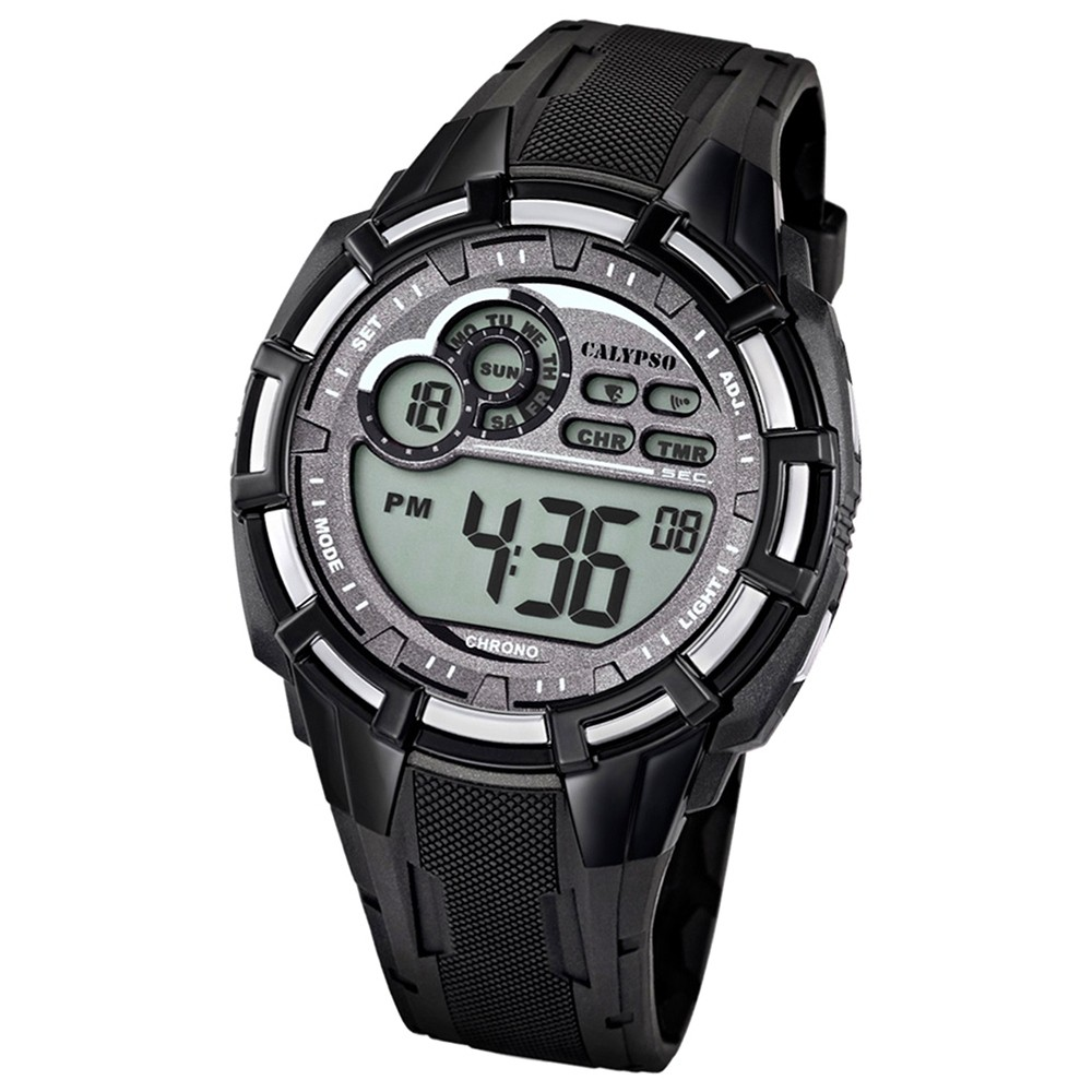 Calypso Herren-Armbanduhr Multifunktion digital Quarz PU UK5625/1