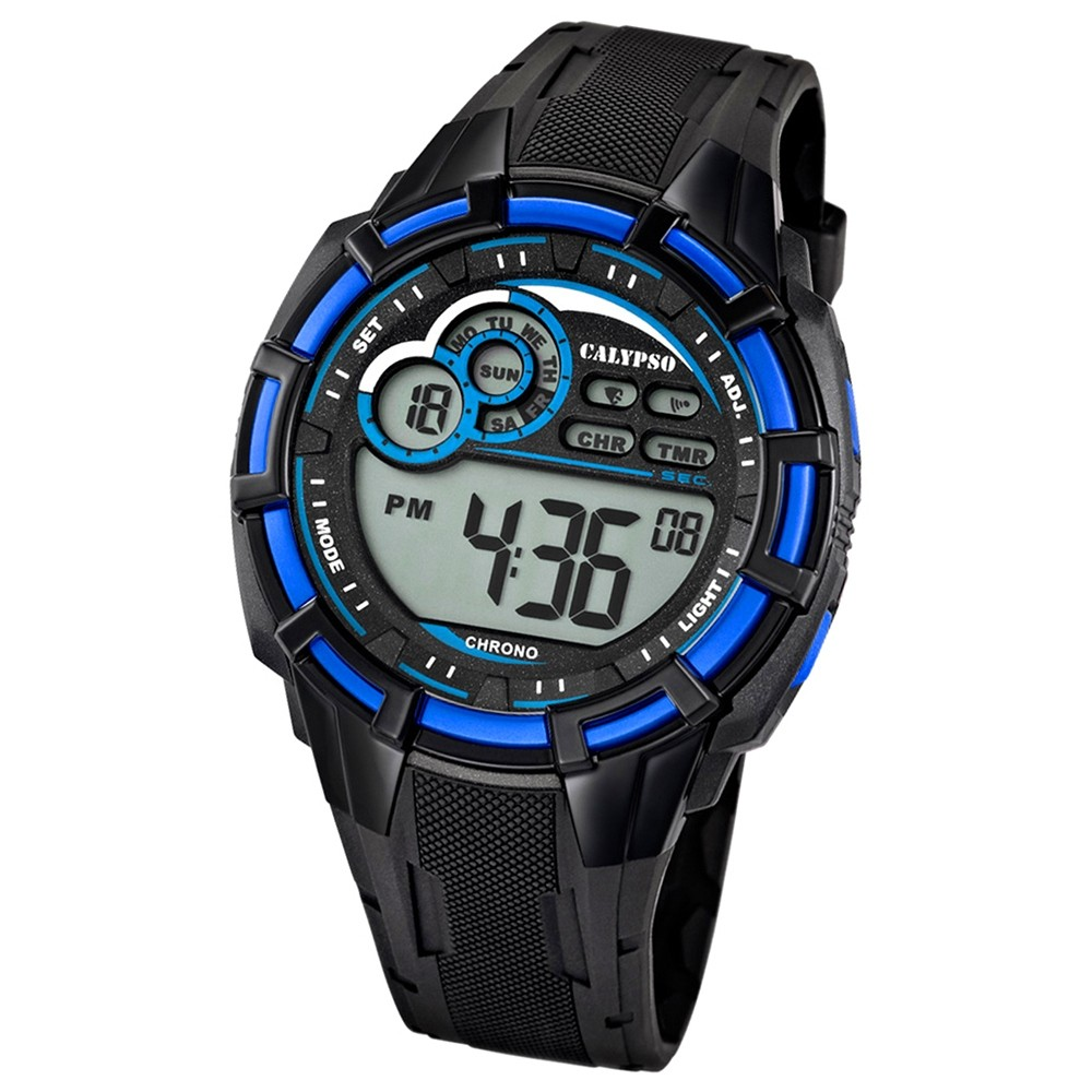 Calypso Herren-Armbanduhr Multifunktion digital Quarz PU UK5625/2