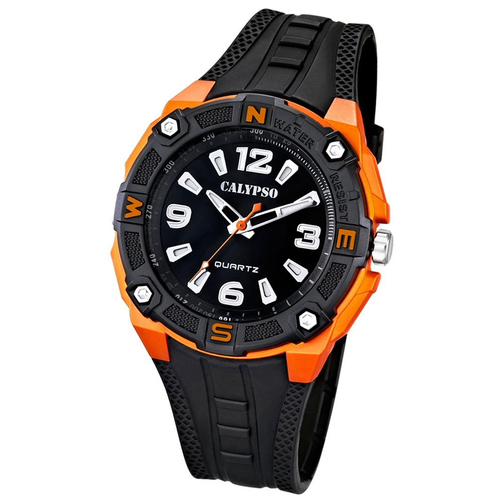 Calypso Herren-Armbanduhr Trend analog Quarz PU UK5634/2
