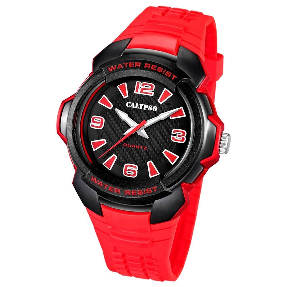 Calypso Herren-Armbanduhr Trend analog Quarz PU UK5635/5
