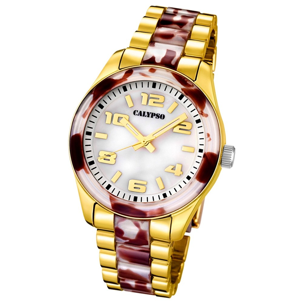 CALYPSO Damen-Uhr - Trend - Analog - Quarz - Kunststoff - UK5648/A