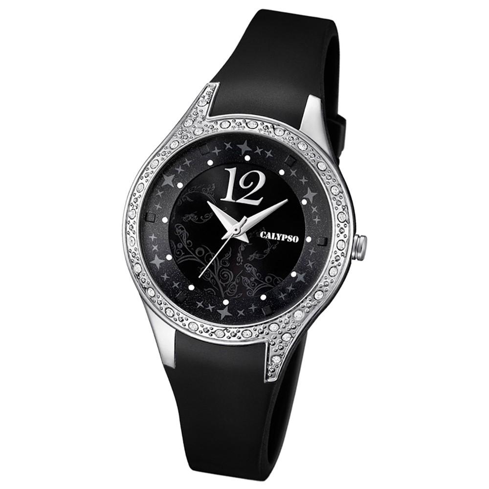 CALYPSO Damen-Uhr - Trend - Analog - Quarz - PU - UK5660/4