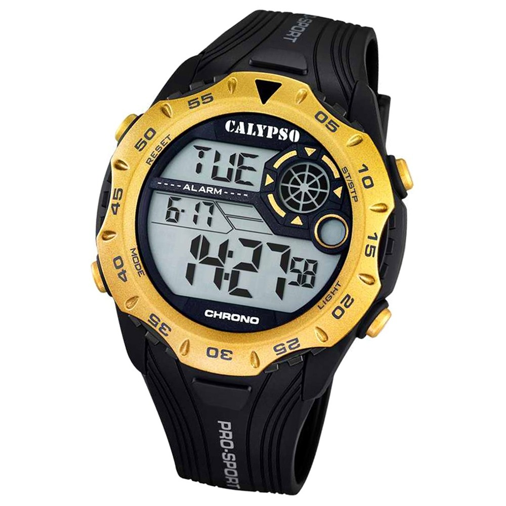 CALYPSO Herren-Uhr - Trend - digital - Quarz - PU - UK5665/2