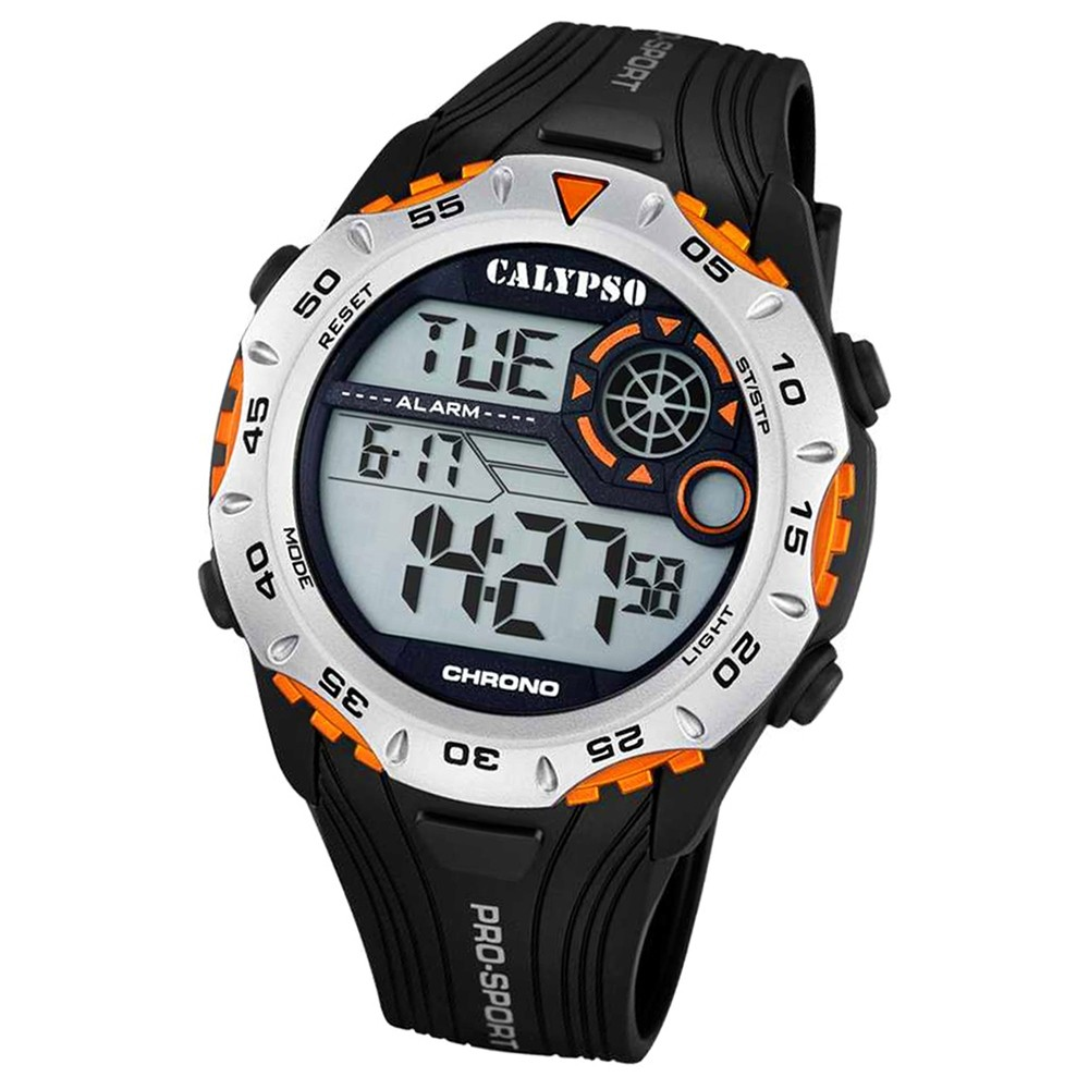 CALYPSO Herren-Uhr - Trend - digital - Quarz - PU - UK5665/5