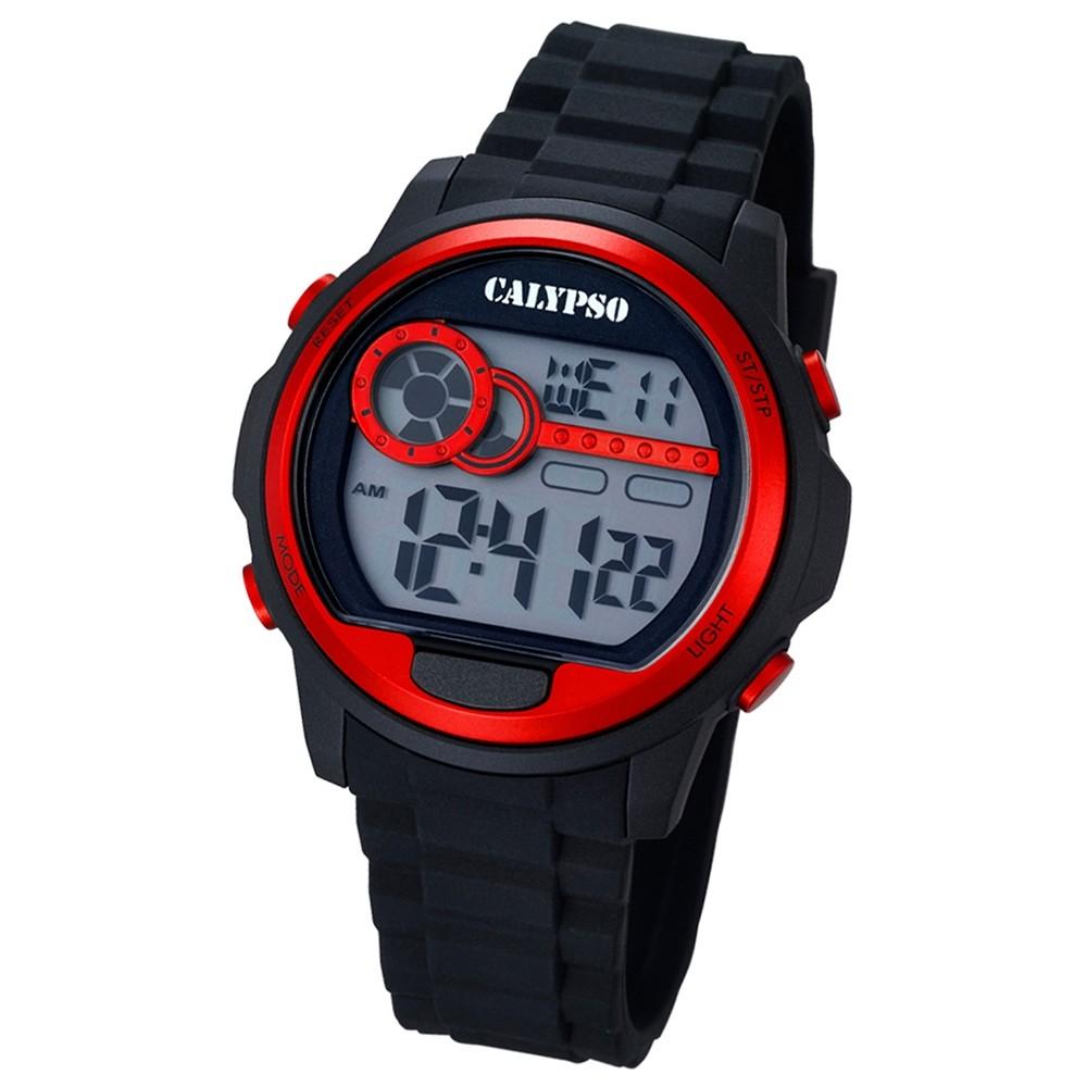 CALYPSO Herren-Uhr - Digital for Man - digital - Quarz - PU - UK5667/2
