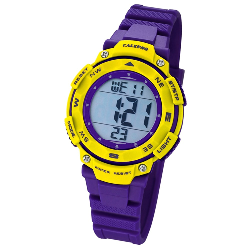 Calypso Damen-Armbanduhr Digital for Woman digital Quarz PU lila Sport UK5669/8