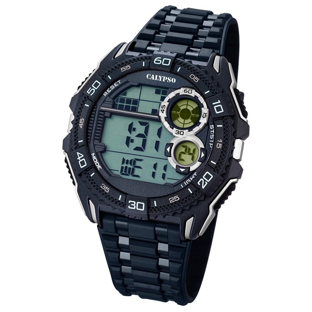 CALYPSO Herren-Uhr - Digital for Man - digital - Quarz - PU - UK5670/4