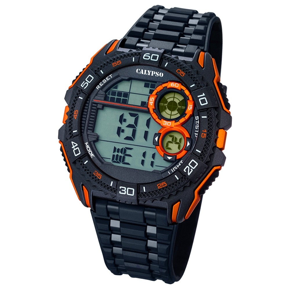 CALYPSO Herren-Uhr - Digital for Man - digital - Quarz - PU - UK5670/6