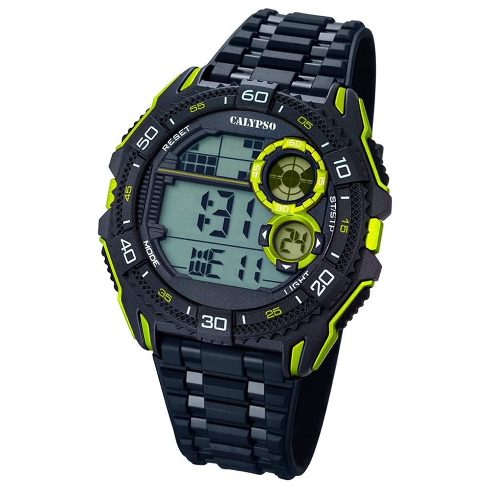 CALYPSO Herren-Uhr - Digital for Man - digital - Quarz - PU - UK5670/7