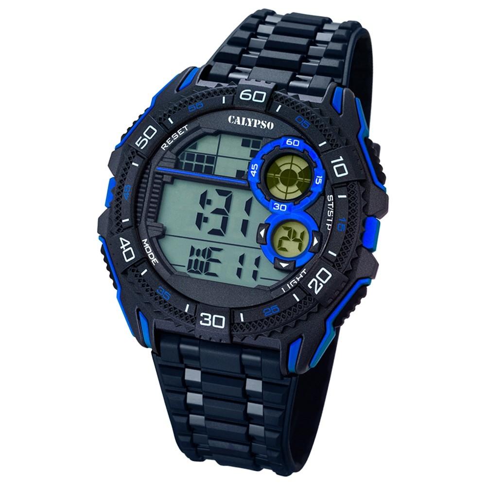 CALYPSO Herren-Uhr - Digital for Man - digital - Quarz - PU - UK5670/8