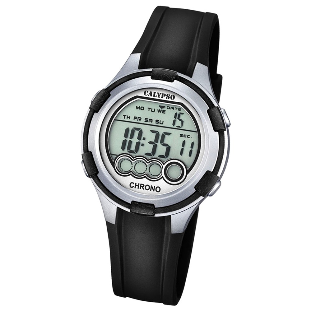 Calypso Damen-Armbanduhr Digital for Woman digital Quarz PU schwarz UK5692/2