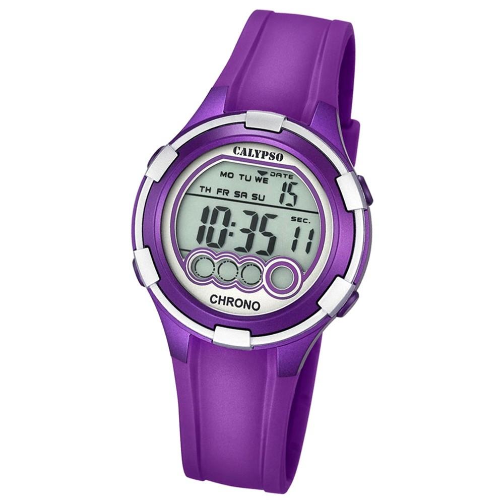 Calypso Damen-Armbanduhr Digital for Woman digital Quarz PU lila UK5692/5
