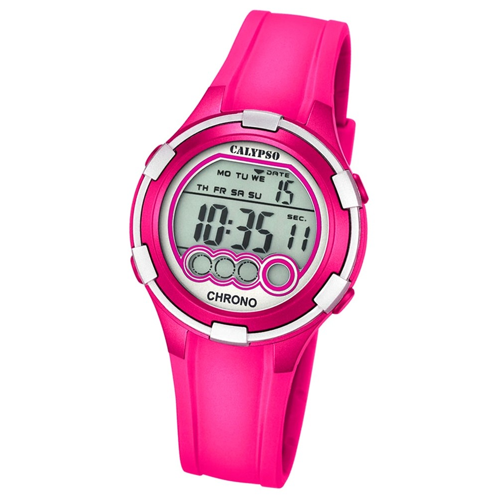Calypso Damen-Armbanduhr Digital for Woman digital Quarz PU fuchsie UK5692/6