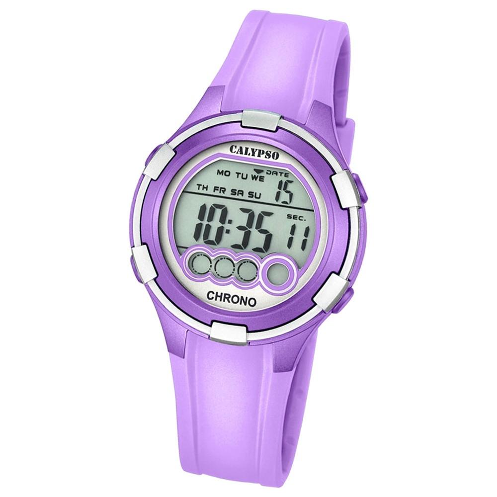Calypso Damen-Armbanduhr Digital for Woman digital Quarz PU helllila UK5692/8