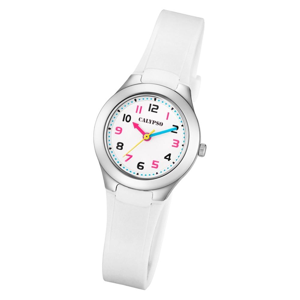 Calypso Kinder Armbanduhr Sweet Time K5749/1 Quarz-Uhr PU weiß UK5749/1