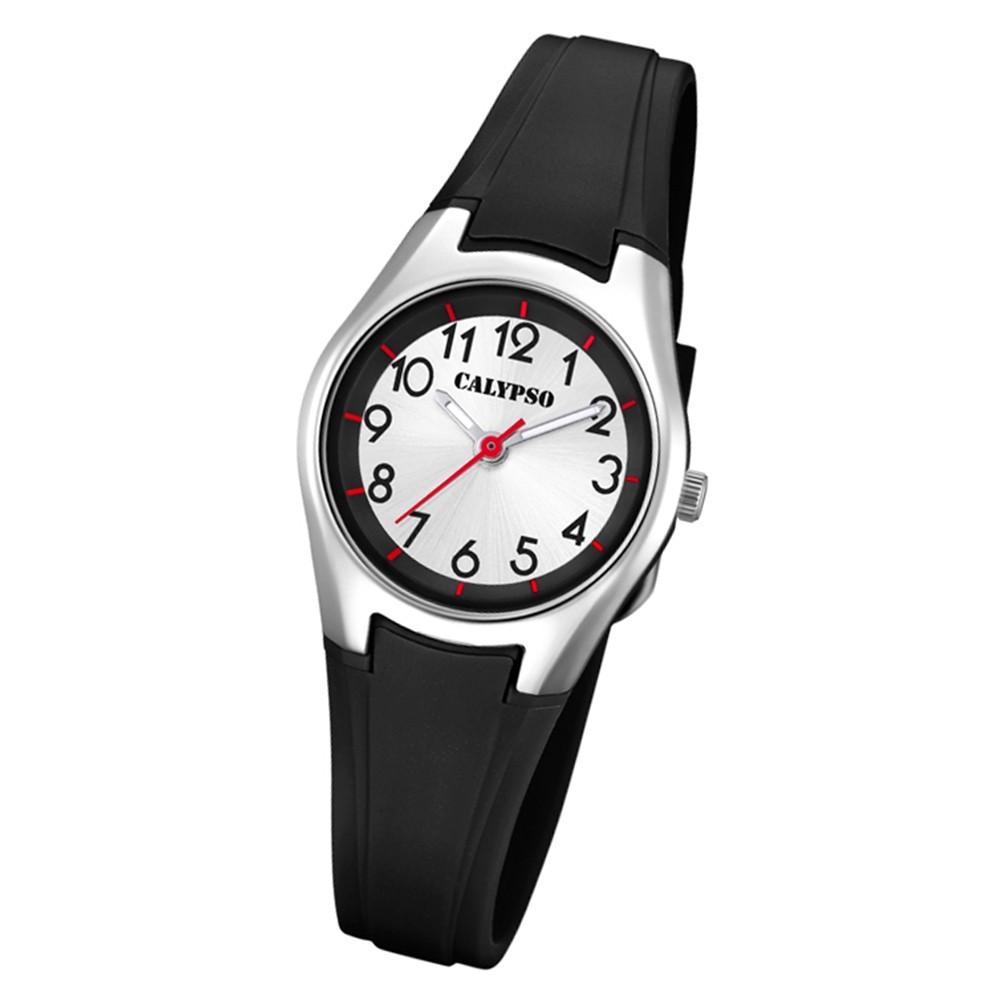 Calypso Damen Armbanduhr Sweet Time K5750/6 Quarz-Uhr PU schwarz UK5750/6