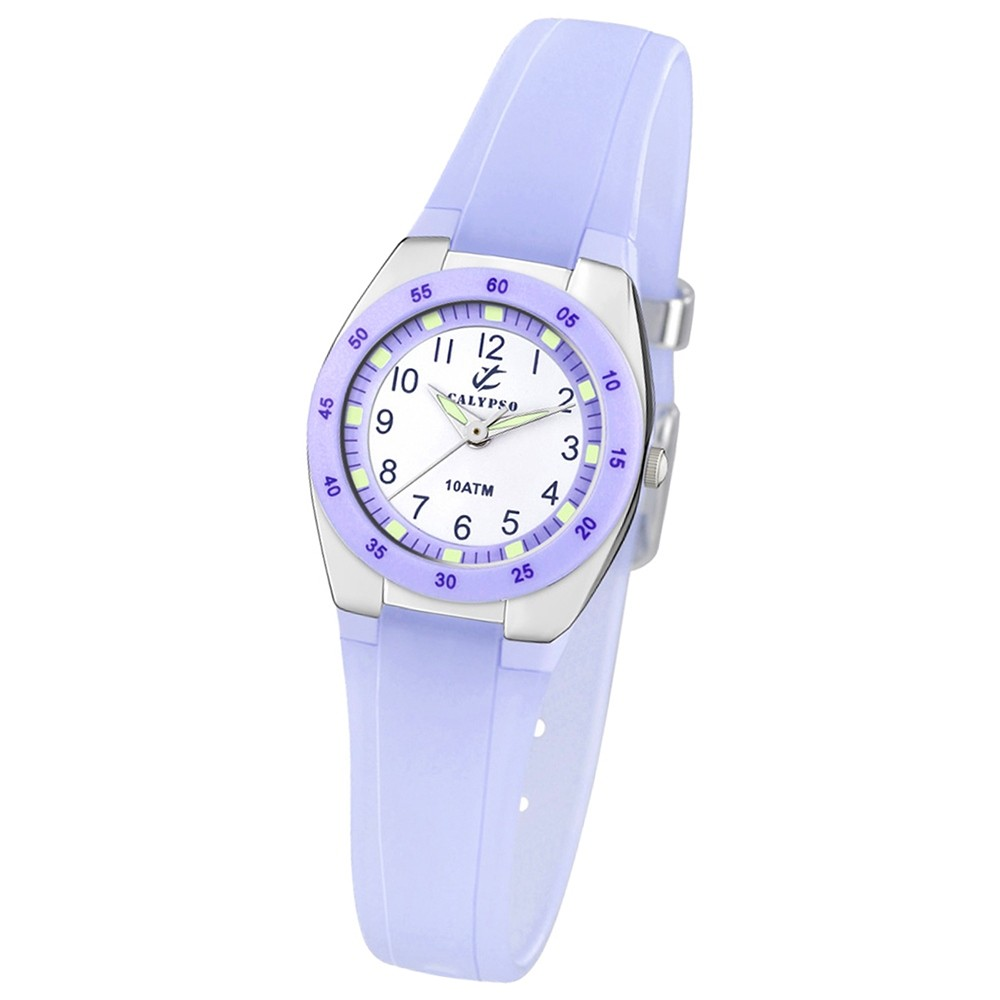 Calypso Jugenduhr Trend analog Quarz PU UK6043/E
