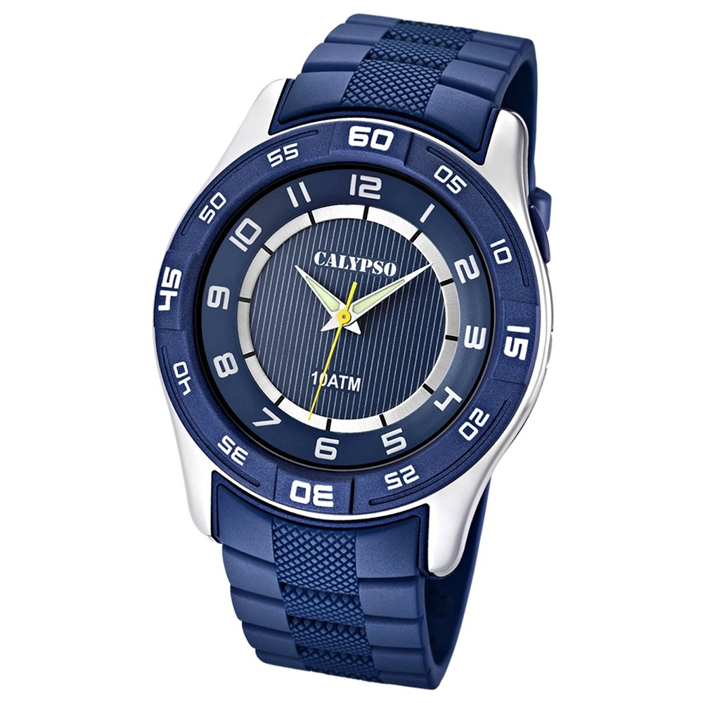 Calypso Herrenuhr blau-blau Analog Uhren Kollektion UK6062/2