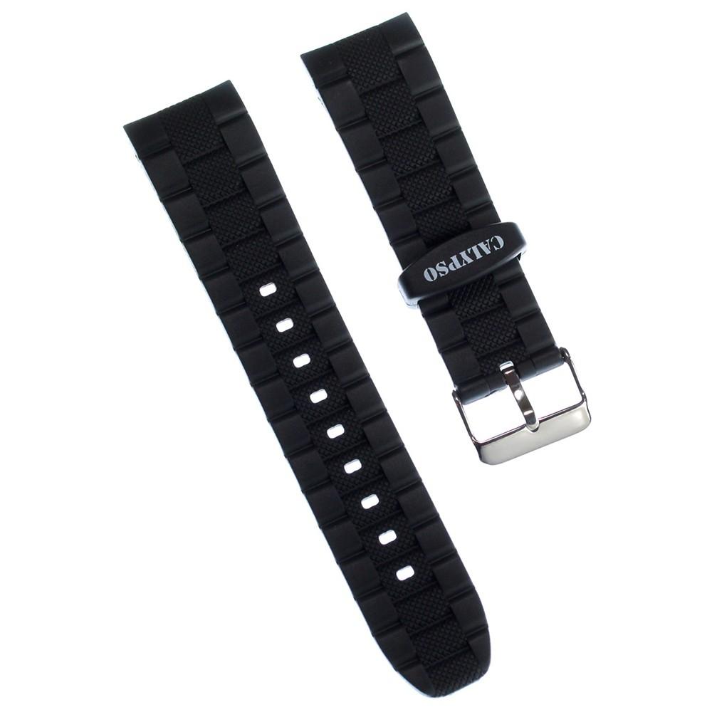 Calypso Herren Uhrenarmband 21mm PU-Band schwarz für Calypso K6062 UKA6062/S