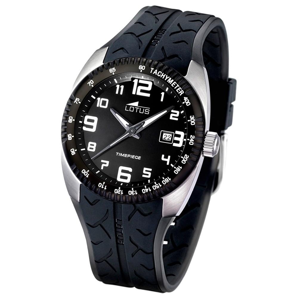 LOTUS Herren-Armbanduhr Cool analog Quarz Edelstahl UL15568/3
