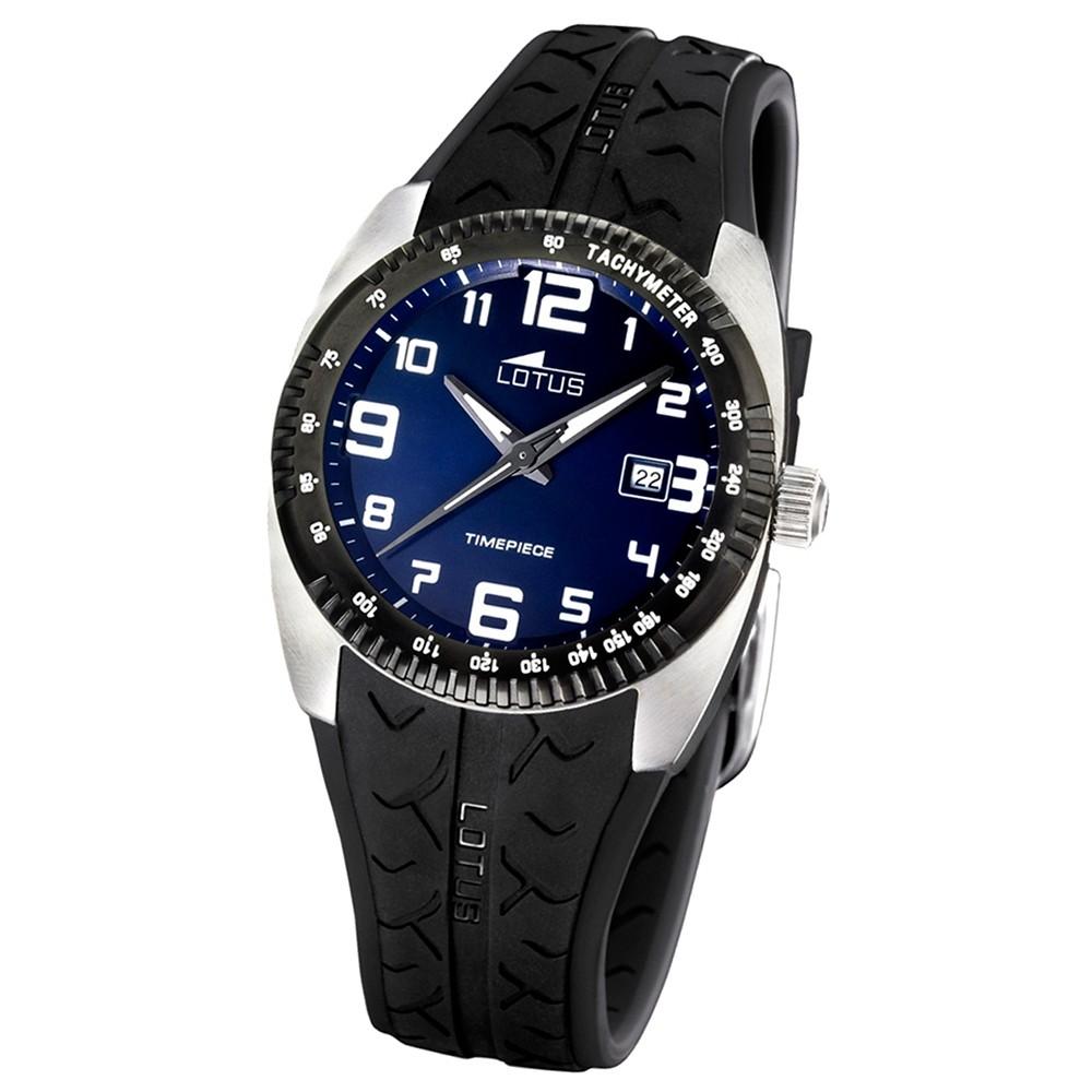 LOTUS Herren-Armbanduhr Cool analog Quarz Edelstahl UL15569/2