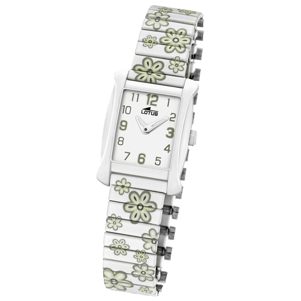 LOTUS Jugend-Armbanduhr Junior analog Quarz Edelstahl UL15768/1