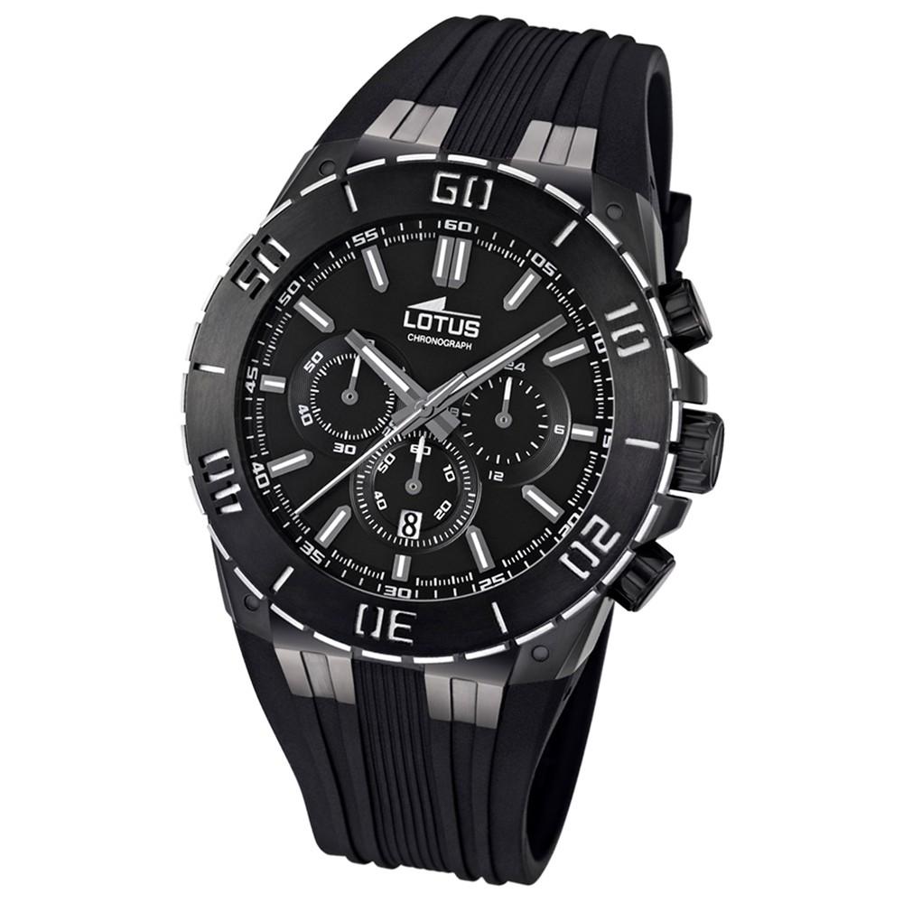 LOTUS Herren-Armbanduhr LOTUS R Chronograph Quarz Kautschuk UL15802/2