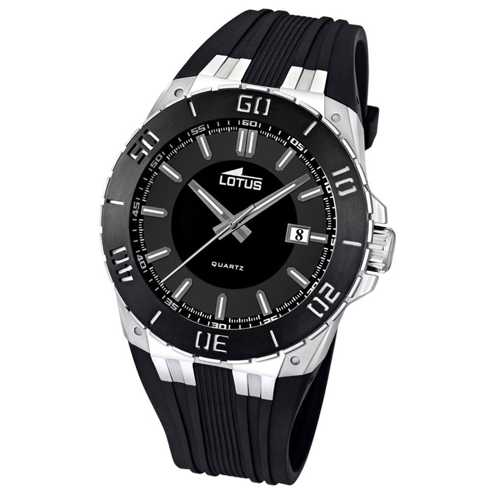 LOTUS Herren-Armbanduhr LOTUS R analog Quarz Kautschuk UL15805/3