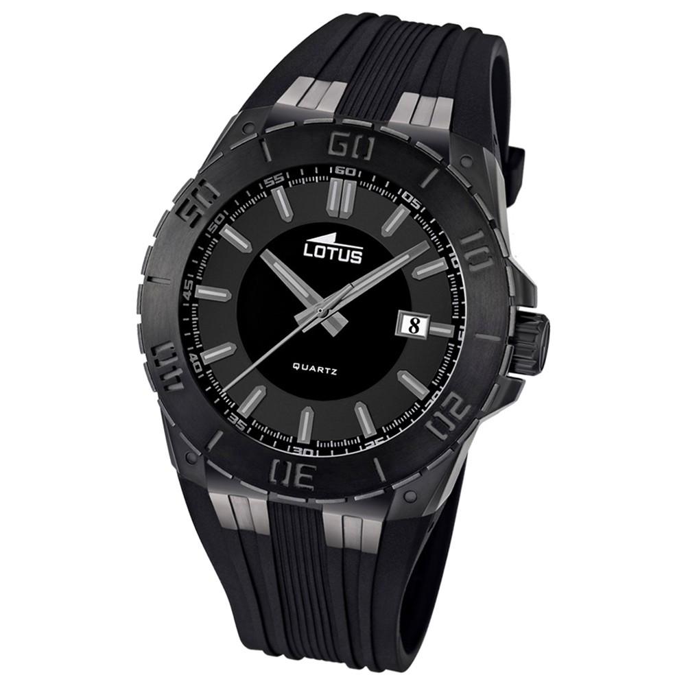 LOTUS Herren-Armbanduhr LOTUS R analog Quarz Kautschuk UL15807/1