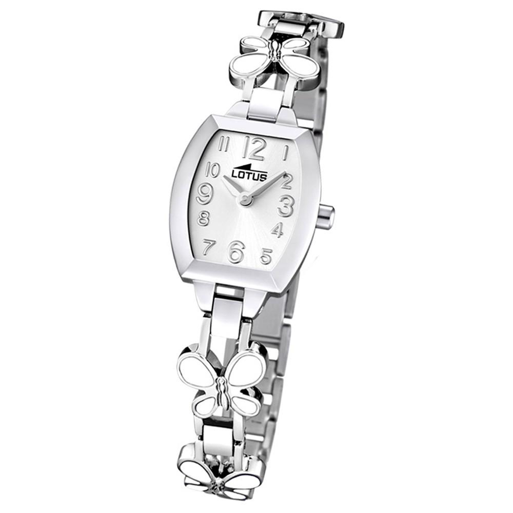 LOTUS Jugend-Armbanduhr Junior analog Quarz Edelstahl UL15827/1