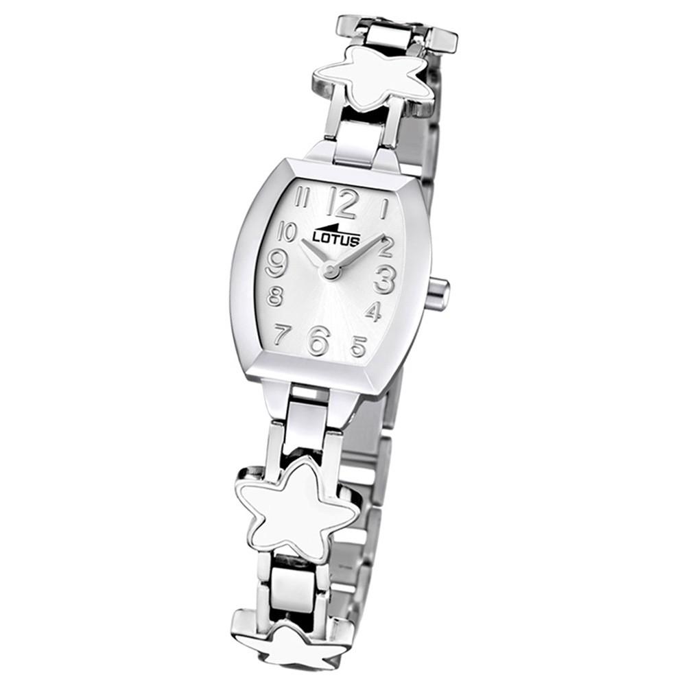 LOTUS Jugend-Armbanduhr Junior analog Quarz Edelstahl UL15833/1