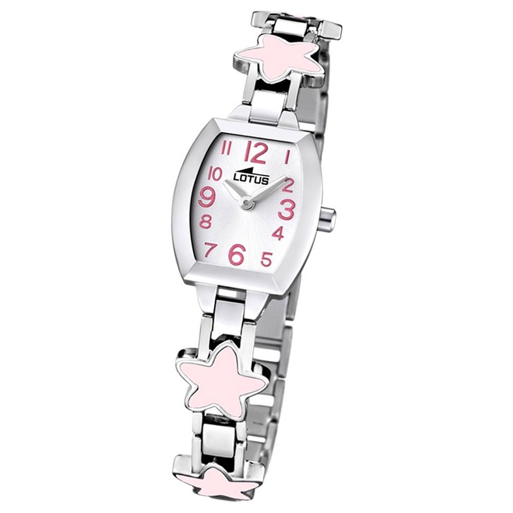 LOTUS Jugend-Armbanduhr Junior analog Quarz Edelstahl UL15833/2