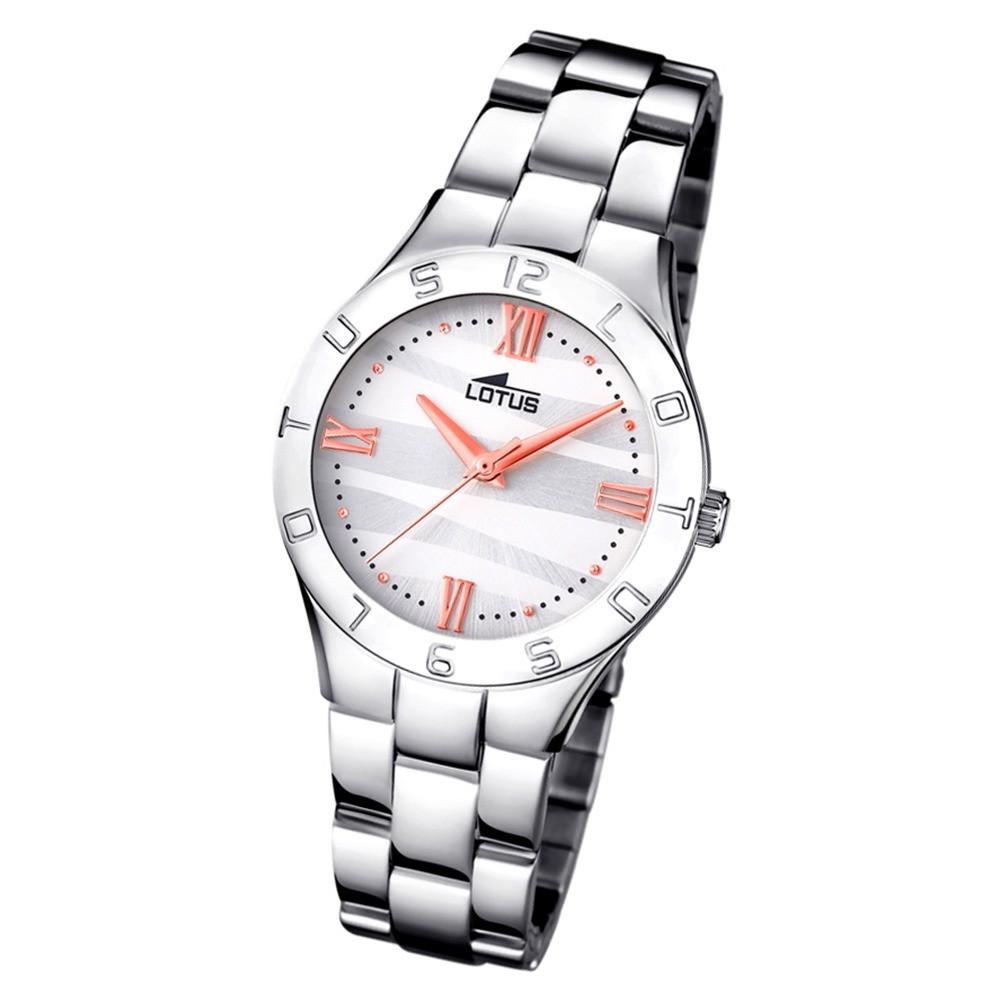 Lotus Damen-Armbanduhr Edelstahl silber 15895/4 Quarz Trendy UL15895/4