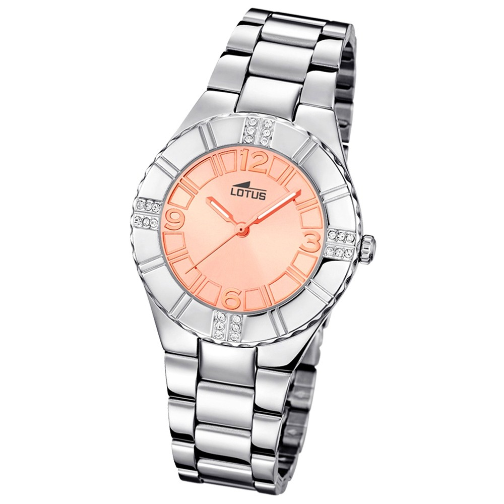 LOTUS Damenuhr Woman/Trendy/Lady Analog Quarz Uhr Edelstahl UL15905/2